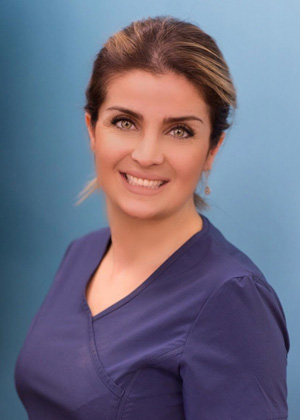 portrait parisa ghavamian Dental Assistant at Gorton and Schmohl Orthodontics Larkspur