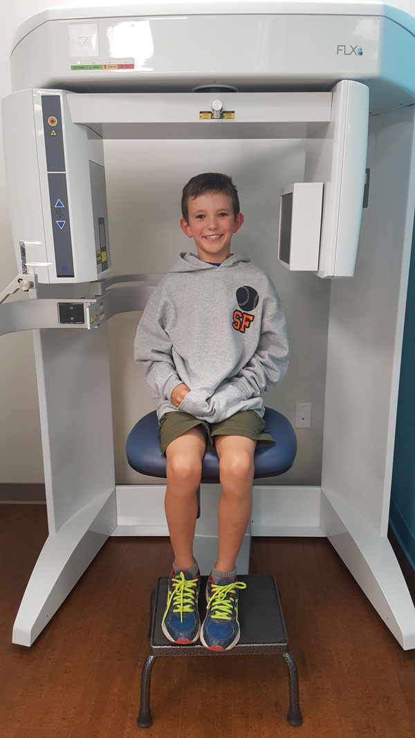 Marin Orthodontics - CBCT machine