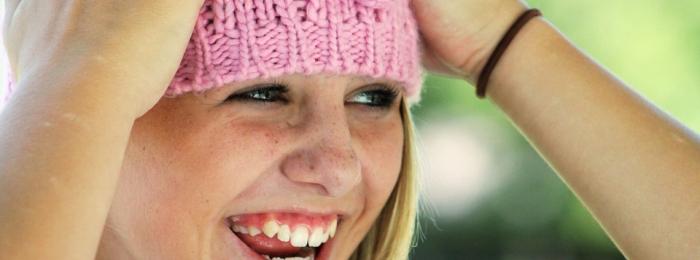 A smile can brighten the darkest day!