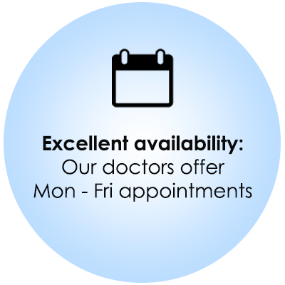 Marin orthodontics icon - excellent availability