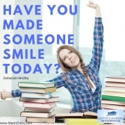 Have​ ​you​ ​made​ ​someone​ ​smile​ ​today?​ ​-​ ​Debasish​ ​Mridha 1