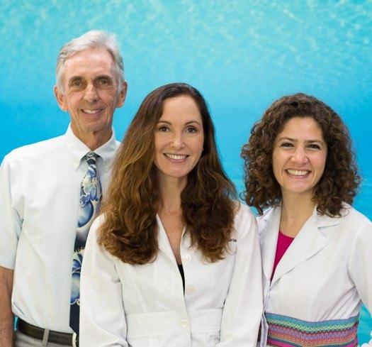Dr. Jasmine Gorton, Dr. Bill Schmohl and Dr. Sona Bekmezian - marin orthodontics