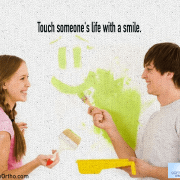 Touch someone's life with a smile 5
