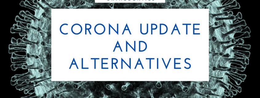 Corona Update and Alternatives - Marin Orthodontist